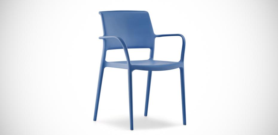 sillas modernas ara por pedrali dise ador jorge pensi