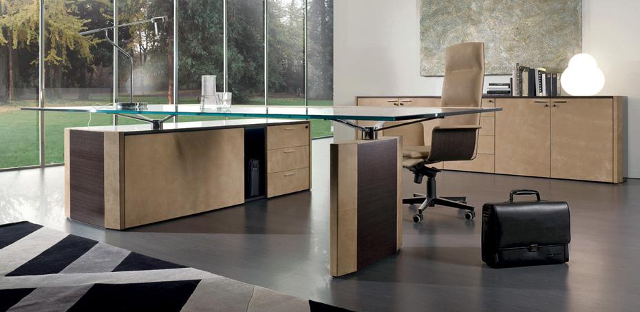 Escritorio moderno de symetria por i4mariani dise adores for Mesas de escritorio modernas