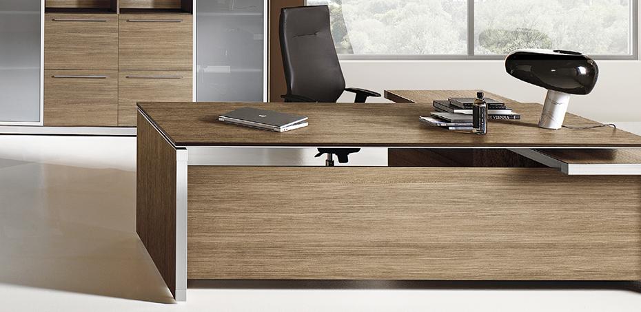 Escritorio ejecutivo de oficina eos por las mobili, diseñadores ...