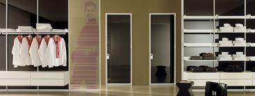Puertas de dise o italiano para interiores modernos y for Puertas diseno italiano