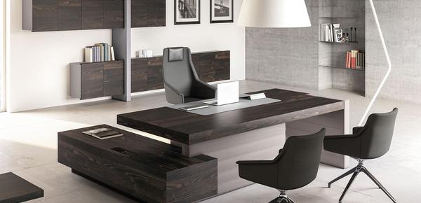 Escritorio de oficina moderno mobiliario de oficina for Mobili studio moderno