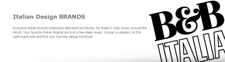 Marcas de muebles de dise o italiano casa dise o for Muebles italianos marcas