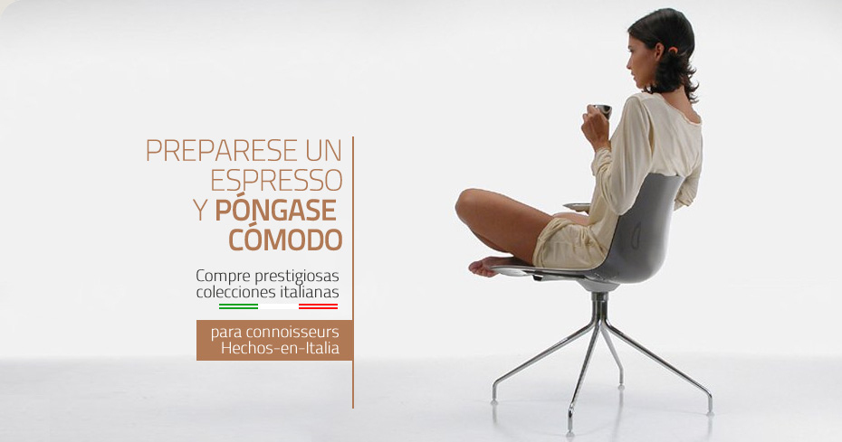 Muebles italianos mobiliario de oficina marcas for Sillas de oficina de diseno